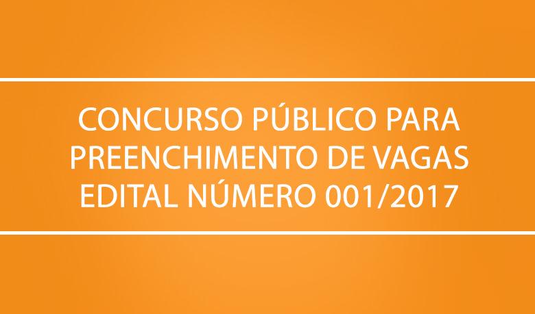 CONCURSO PÚBLICO PARA PREENCHIMENTO DE VAGAS