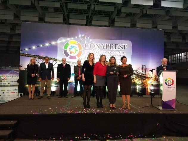 Karina Habermann, Cristiane Habermann, Claudia Nancy Monzani e Gersiane Gomes Barbosa