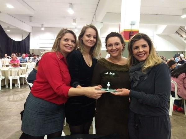 Cristiane Habermann, Karina Habermann, Gersiane Gomes Barbosa e Claudia Nancy Monzani