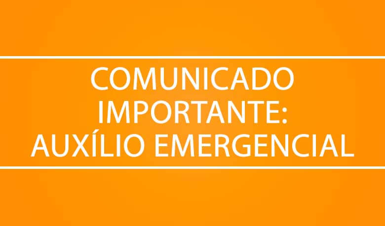 Comunicado importante: auxílio emergencial Lemeprev