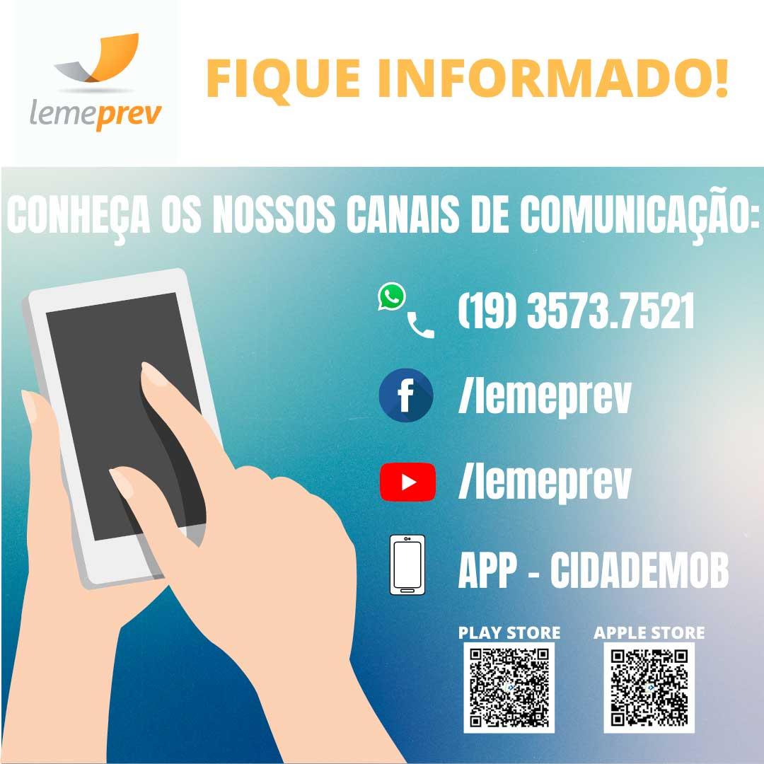 Canais de Comunicação Lemeprev